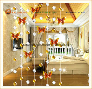 Fashion Curtain for Decorations/Glass Deco Curtain pictures & photos