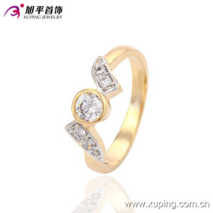 Fashion Elegant Two - Stone Color Women Jewelry Finger Ring with Big Zircon -13582 pictures & photos
