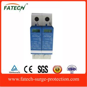 Chinese Exporters AC Power Supply 385V Voltage Surge Protector SPD 2P 60ka pictures & photos
