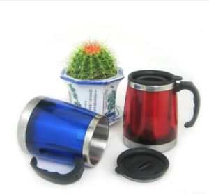 New Products 450ml Stainless Steel Beer Coffee Mug with Handle pictures & photos