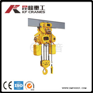 OEM Service Provided Electric Trolley Type Chain Hoist for Crane Use