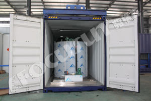 Focusun Hot Sale High Quality Container Seawater Flake Ice Machine pictures & photos