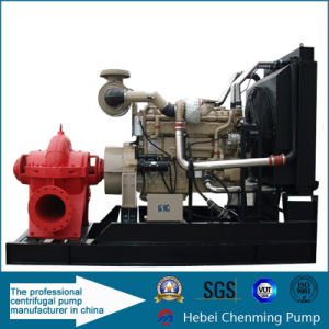 Single Stage Double Suction Electric Centrifugal Diesel Pump pictures & photos