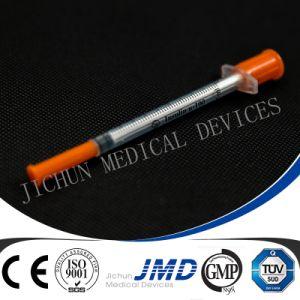 0.3cc/0.5cc/1cc Disposable Insulin Syringes pictures & photos