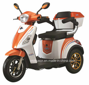 500W 48V Electric Tricycle with Three Wheels pictures & photos