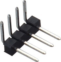 2.5mm Single Row 180 ° SMT Pin Header pictures & photos