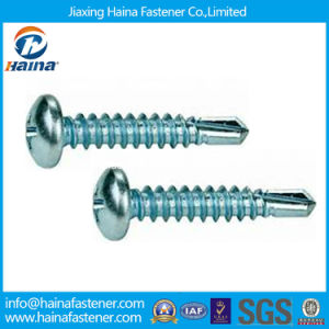 DIN7504-N Zinc Plated Pan Head Self-Drilling Screw pictures & photos