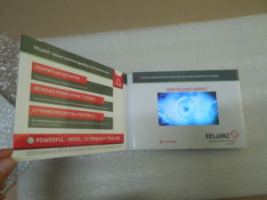 4.3 Inch LCD Video Brochure Card pictures & photos