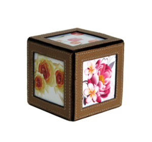 Square Leather Desk Photo Holder pictures & photos