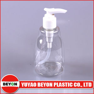 Clear Empty 250ml Uncommon Plastic Lotion Bottle pictures & photos