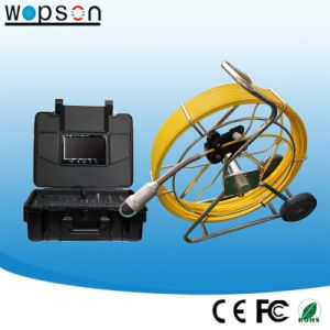 Push Rod Pan/Tilt Pipe Inspection Camera, Borehole Inspection Camera pictures & photos