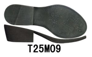 Good Quality High Heel Women′s Shoe Sole TPR Sole Leather Shoe Outsole (T25M09) pictures & photos