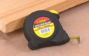 High Quality 3m Auto Lock Steel Tape Measure with Double Marked Blade pictures & photos