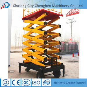 China Construction Equipment Lifting Industrial Platform Lift for Sale pictures & photos