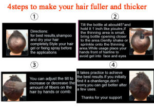 Top Quality Hair Restoration Regrowth Hair Products Instant Hair Fiber pictures & photos