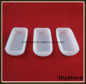 Top Selling Opaque Round Bottom Quartz Glass Boat pictures & photos