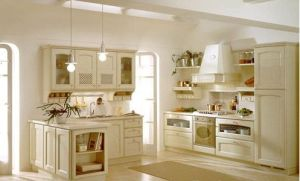 Solid Wood Kitchen Furniture pictures & photos