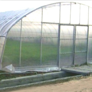 Hot Sale Steel Frame High Tunnel Green House with New Fashion Design pictures & photos