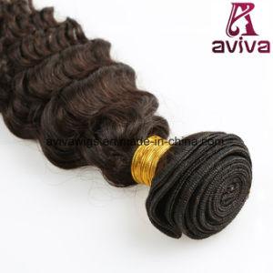 Deep Wave Brazilian Natural Virgin Hair Extension pictures & photos