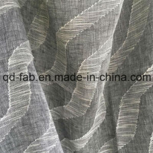 70*58 Cotton Linen Jacquard Woven Fabric (QF16-2516) pictures & photos