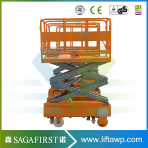 3m 4m Hydraulic Mini Self Propelled Small Scissor Lift pictures & photos