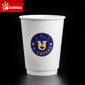 Disposable Paper Coffee Cups 12oz pictures & photos