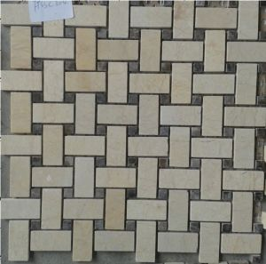 Natural Marble Stone Mosaic Tile (FYSSC146) pictures & photos