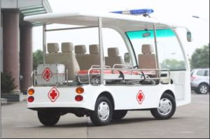 CE Approved 7-Seats Electric Ambulance with Proof for Sale pictures & photos