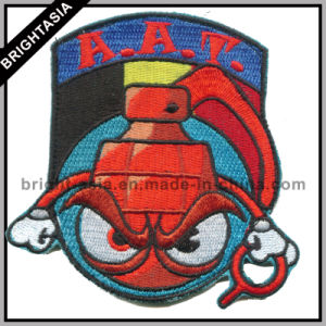 Sheld Cool Embroidery Badge for Shcool Use (BYH-10949) pictures & photos
