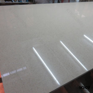 Top Quality Beige Quartz Stone for Bathroom Wall Panel pictures & photos