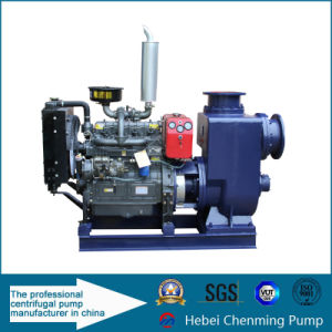 Zw Diesel Engine Driven Centrifugal Acid Water Self-Priming Sewage Pump pictures & photos