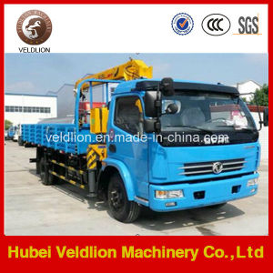 2 Ton Dongfeng Mini Truck with Crane (telescopic boom) pictures & photos