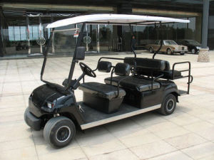 6 Passengers Folded Back Seat Electric Club Cart (LT-A4+2) pictures & photos