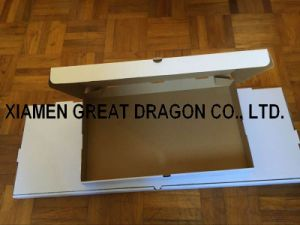 Locking Corners Pizza Box for Stability and Durability (PB160584) pictures & photos