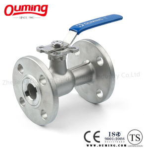 1 PC Mounting Pad Ball Valve with Flange End pictures & photos