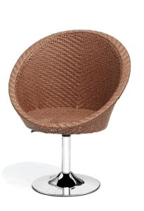 Bar Resterant PE Rattan Revolving Chair pictures & photos