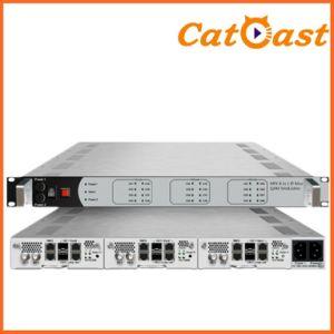 MPEG2/4 Multiplexing 8 in 1 IP Mux-Qam Modulator pictures & photos