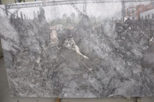 Polished Cappuccino Grey Slabs, Polished Slabs Countertop pictures & photos