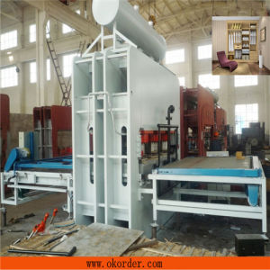 MDF Short Cycle Melamine Hot Press Machine pictures & photos