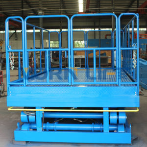 Electric Hydraulic Double Scissor Lift Table pictures & photos