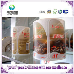 Customerize Adhesive Label with Printing for Motorcycle pictures & photos