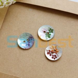 New Design Round Shell Buttons for Garments pictures & photos