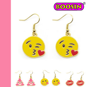 Fashion Jewelry Emoji Earring/Emoji Stud Earring/Costum Emoji Drop Earring pictures & photos