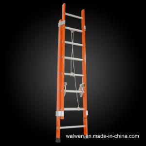 Muiti-Purpose Extension Insulation Fiberglass Ladder pictures & photos