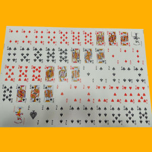 Custom Design Paper Playing Cards Poker Plastic Poker pictures & photos