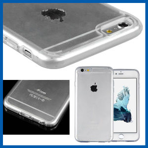 Slim TPU Bumper Hard Clear Case for iPhone 6s pictures & photos