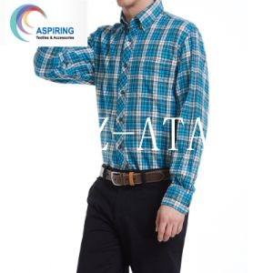 2016 Fashion Shirt Garment Tc Yarn Dyed Fabric pictures & photos