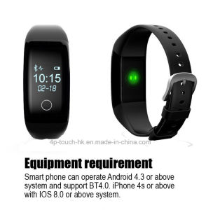 Waterproof Bluetooth Smart Bracelet with Heart Rate Monitor (V7) pictures & photos