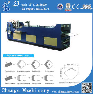 Xty-380 Custom A6 Window Envelope Size Making Machine Price pictures & photos