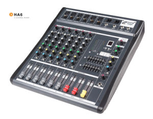 Mixing Console/Small Mixer/Lightweight Mixer/ Ha6 pictures & photos